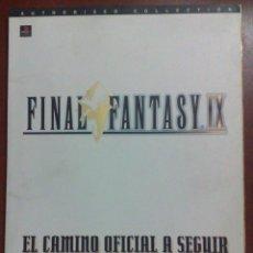 Videojuegos y Consolas: GUIA OFICIAL EN CASTELLANO DE FINAL FANTASY IX - SQUARESOFT - EL CAMINO OFICIAL A SEGUIR. Lote 47016279