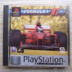 Videojuegos y Consolas: FORMULA 1 97 - PLASTATION 1 - PAL PLATINUM - SONY. Lote 170175646