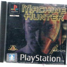 Videojuegos y Consolas: PLAYSTATION 1 MACHINE HUNTER - PORTADA, CONTRAPORTADA Y MANUAL SOLO. Lote 91748128