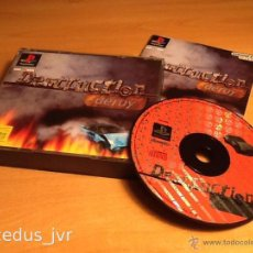 Videojuegos y Consolas: DESTRUCTION DERBY JUEGO PARA SONY PLAY STATION PLAYSTATION 1 PS1 PAL ESPAÑA COMPLETO. Lote 48202213