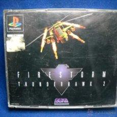 Videojuegos y Consolas: FIRESTORM THUNDERHAWK 2 - PS1 - PLAYSTATION 1. Lote 48443975