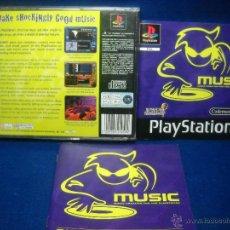 Videojuegos y Consolas: MUSIC - PS1 - PLAYSTATION 1. Lote 48444475