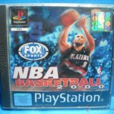 Videojuegos y Consolas: NBA BASKETBALL 2000 - PS1 - PLAYSTATION 1. Lote 48444610