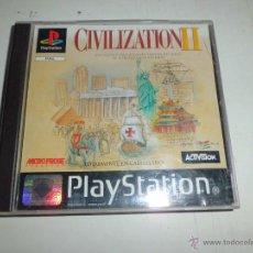 Videojuegos y Consolas: JUEGO PSX1 CIVILIZATION II COMPLETO . Lote 49270575