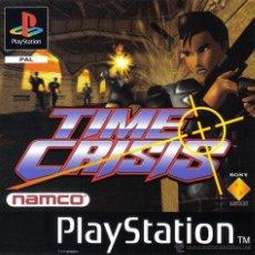 Videojuegos y Consolas: PLAYSTATION - TIME CRISIS . Lote 49314693