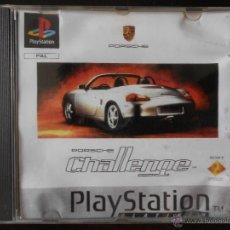 Videojuegos y Consolas: PS1 - PLAYSTATION - PORSCHE CHALLENGE - PLATINUM - PAL ESPAÑA (2Y). Lote 49407290