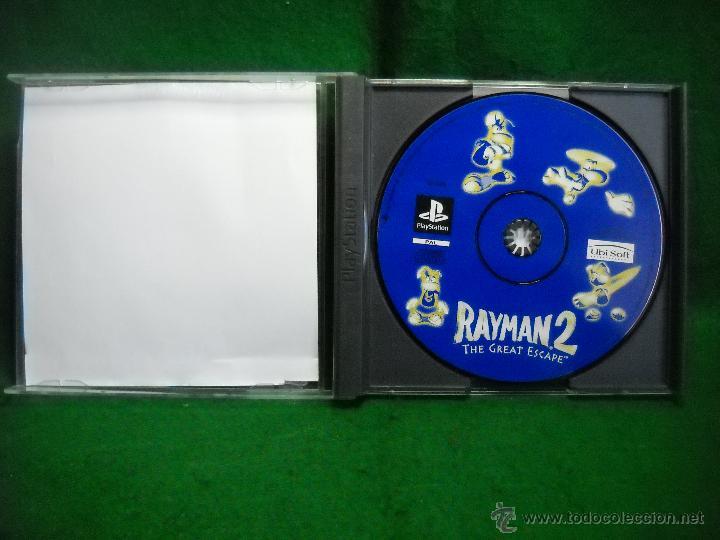 Videojuegos y Consolas: RAYMAN 2 PLAYSTATION 1 PS1 - Foto 3 - 50064324