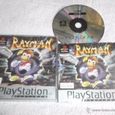 Videojuegos y Consolas: RAYMAN PARA SONY PLAYSTATION COMPLETO. Lote 50236206