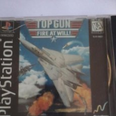 Videojuegos y Consolas: PLAYSTATION TOP GUN FIRE AT WILL.. Lote 50406770