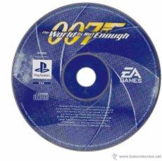 Videojuegos y Consolas: PLAYSTATION 007 EL MUNDO NUNCA ES SUFICIENTE. Lote 50678523