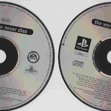 Videojuegos y Consolas: PLAYSTATION 007 EL MUNDO NUNCA ES SUFICIENTE, 007 EL MAÑANA NUNCA MUERE (2 JUEGOS). Lote 50678525