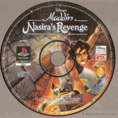 Videojuegos y Consolas: PLAYSTATION ALADDÍN - LA VENGANZA DE NASIRA'S (DISNEY). Lote 50678577