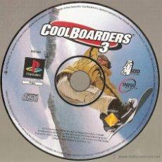 Videojuegos y Consolas: PLAYSTATION COOL BOARDERS 3. Lote 122119360