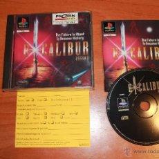 Videojuegos y Consolas: EXCALIBUR 2555 A.D PS1 PLAYSTATION 1 PAL COMPLETO MUY RARO. Lote 51060583