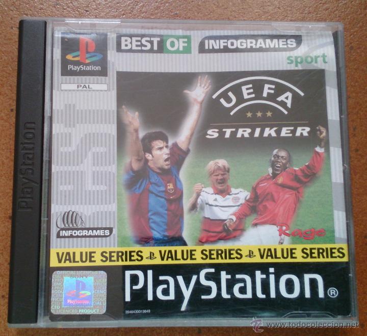 JUEGO PLAYSTATION UEFA STRINKER (Juguetes - Videojuegos y Consolas - Sony - PS1)