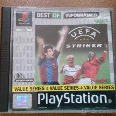 Videojuegos y Consolas: JUEGO PLAYSTATION UEFA STRINKER . Lote 51711074