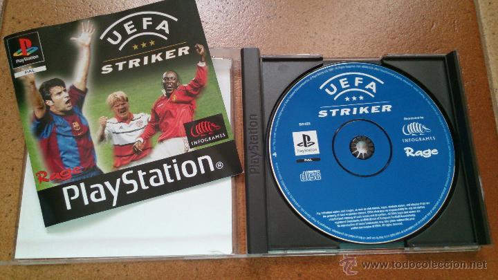 Videojuegos y Consolas: Juego PlayStation UEFA Strinker - Foto 2 - 51711074