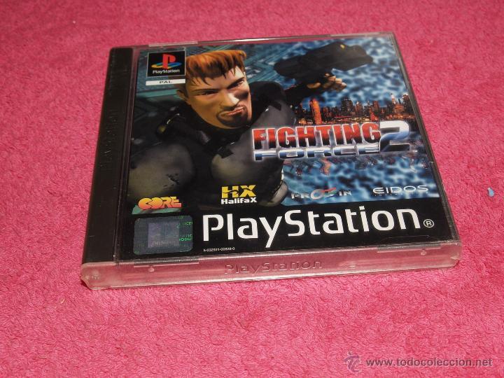 PLAYSTATION 1 PSX PS1 FIGHTING FORCE 2 NUEVO Y PRECINTADO VERSIÓN PAL ESPAÑA (Juguetes - Videojuegos y Consolas - Sony - PS1)