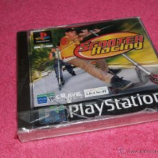 Jeux Vidéo et Consoles: PLAYSTATION 1 PSX PS1 SCOOTER RACING NUEVO PRECINTADO VERSIÓN PAL ESPAÑA CARATULA TOTALMENTE PARTIDA. Lote 52009729