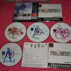 Videojuegos y Consolas: PLAYSTATION 1 PSX PS1 FINAL FANTASY IX COMO NUEVO VERSIÓN PAL FRANCESA. Lote 52009969