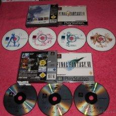 Videojuegos y Consolas: PLAYSTATION 1 PSX PS1 FINAL FANTASY VII + FINAL FANTASY IX VERSIÓN PAL GERMAN LEER MUY BUEN ESTADO. Lote 52020722