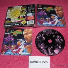 Videogiochi e Consoli: PLAYSTATION 1 PSX PS1 WARNER BROS SPACE JAM COMPLETO VERSIÓN PAL ESPAÑA. Lote 175039452