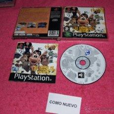 Jeux Vidéo et Consoles: PLAYSTATION 1 PSX PS1 HUGO LA FIEBRE DE LOS DIAMANTES NEGROS COMPLETO VERSIÓN PAL ESPAÑA. Lote 52021216