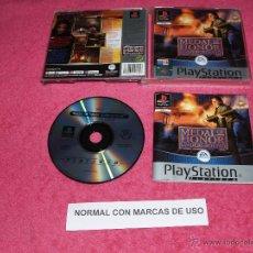 Jeux Vidéo et Consoles: PLAYSTATION 1 PSX PS1 MEDAL OF HONOR UNDERGROUND COMPLETO VERSIÓN PAL ESPAÑA. Lote 52021484