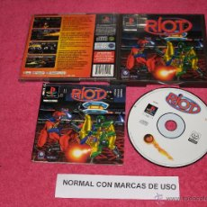 Videojuegos y Consolas: PLAYSTATION 1 PSX PS1 RIOT COMPLETO VERSIÓN PAL ESPAÑA. Lote 52021968