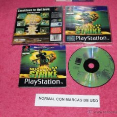 Videojuegos y Consolas: PLAYSTATION 1 PSX PS1 NUCLEAR STRIKE COMPLETO VERSION PAL UK. Lote 52069891