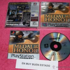 Videogiochi e Consoli: PLAYSTATION 1 PSX PS1 MEDAL OF HONOR COMPLETO VERSION PAL ESPAÑA. Lote 52071804