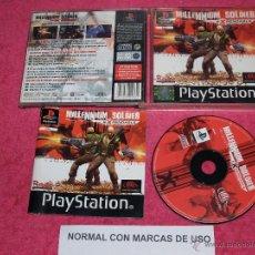 Videojuegos y Consolas: PLAYSTATION 1 PSX PS1 MILLENNIUM SOLDIER COMPLETO VERSION PAL ESPAÑA. Lote 52073624