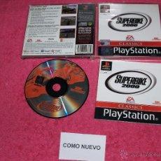 Videojuegos y Consolas: PLAYSTATION 1 PSX PS1 CLASSIC SUPERBIKE 2000 COMPLETO VERSION PAL ESPAÑA. Lote 52076338
