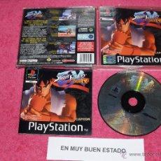 Videojuegos y Consolas: PLAYSTATION 1 PSX PS1 STREET FIGHTER PLUS A COMPLETO VERSION PAL ESPAÑA. Lote 52078268