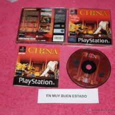 Videojuegos y Consolas: PLAYSTATION 1 PSX PS1 CHINA COMPLETO VERSION PAL ESPAÑA. Lote 52080813