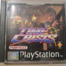 Videojuegos y Consolas: JUEGO PS1 TIME CRISIS. Lote 52280429