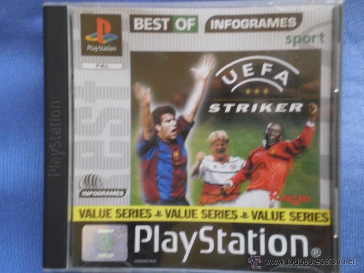 UEFA STRIKER (Juguetes - Videojuegos y Consolas - Sony - PS1)