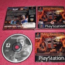 Videojuegos y Consolas: JUEGO PLAYSTATION 1 PSX PS1 BALLERBURG COMPLETO PAL. Lote 166485392