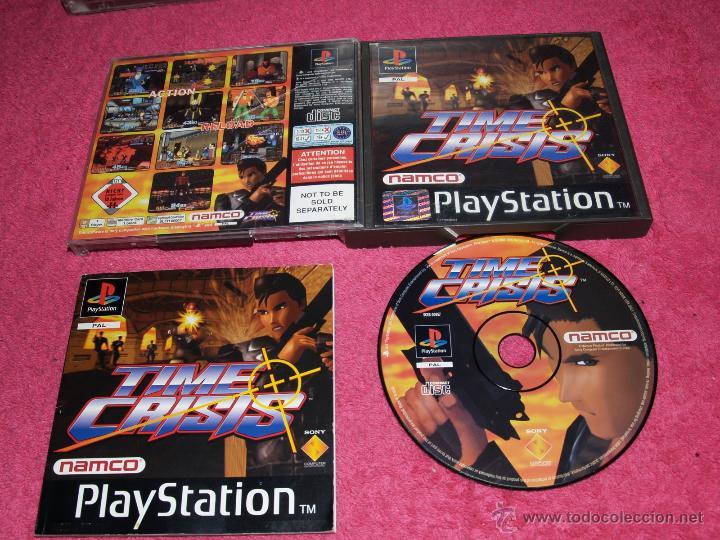 Juego Playstation 1 Psx Ps1 Time Crisis 1 Edici Comprar
