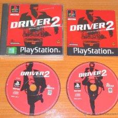 Videojuegos y Consolas: JUEGO PLAYSTATION 1 PSX PS1 'DRIVER 2, BACK ON THE STREETS', VERSIÓN PAL UK.. Lote 52579102
