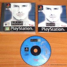 Videojuegos y Consolas: JUEGO PLAYSTATION 1 PSX PS1 'DAVID BECKHAM SOCCER', VERSIÓN PAL UK.. Lote 52599826