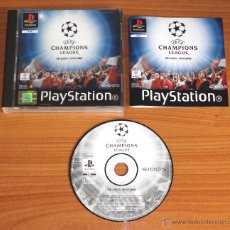 Videojuegos y Consolas: JUEGO PLAYSTATION 1 PSX PS1 'UEFA CHAMPIONS LEAGUE, SEASON 1999/2000', VERSIÓN PAL UK.. Lote 52600091