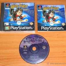 Videojuegos y Consolas: JUEGO PLAYSTATION 1 PSX PS1 'HARRY POTTER AND THE PHILOSOPHER'S STONE', VERSIÓN PAL UK.. Lote 54786298