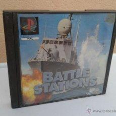 Videojuegos y Consolas: BATTLE STATIONS - JUEGO PSX PLAYSTATION 1. Lote 53105518
