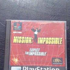 Videogiochi e Consoli: MISSION: IMPOSSIBLE - EXPECT THE IMPOSSIBLE - PLAYSTATION 1 - 1999.. Lote 53384589