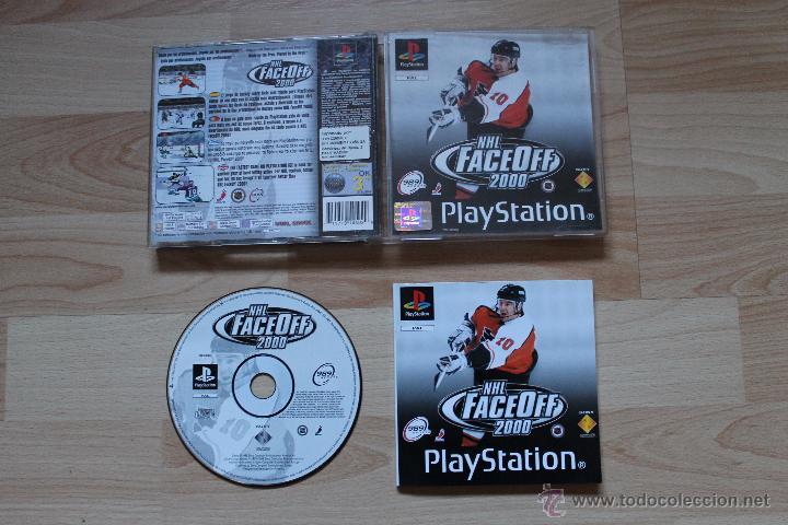 NHL FACEOFF 2000 PLAYSTATION PSX PS1 EDICIÓN ESPAÑOLA NHL FACE OFF 2000 (Juguetes - Videojuegos y Consolas - Sony - PS1)