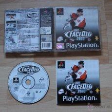 Videojuegos y Consolas: NHL FACEOFF 2000 PLAYSTATION PSX PS1 EDICIÓN ESPAÑOLA NHL FACE OFF 2000. Lote 53809008