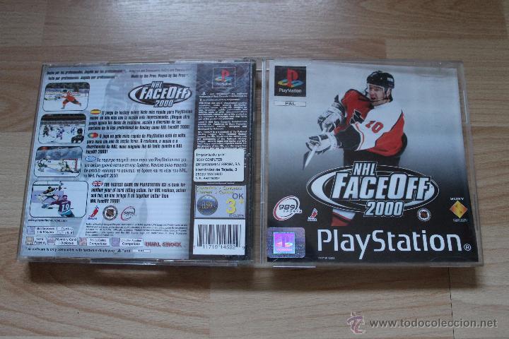 Videojuegos y Consolas: NHL FACEOFF 2000 PLAYSTATION PSX PS1 EDICIÓN ESPAÑOLA NHL FACE OFF 2000 - Foto 2 - 53809008