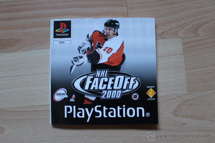 Videojuegos y Consolas: NHL FACEOFF 2000 PLAYSTATION PSX PS1 EDICIÓN ESPAÑOLA NHL FACE OFF 2000 - Foto 4 - 53809008