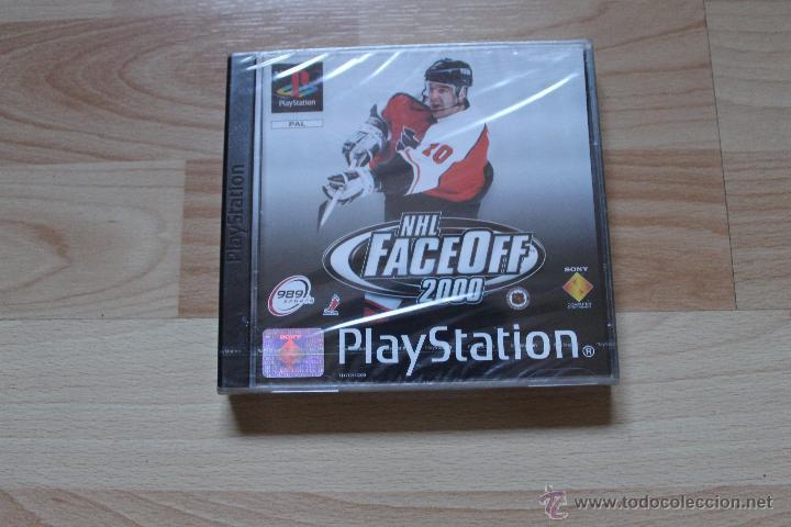 NHL FACEOFF 2000 PRECINTADO PLAYSTATION PSX PS1 EDICIÓN ESPAÑOLA NHL FACE OFF 2000 (Juguetes - Videojuegos y Consolas - Sony - PS1)